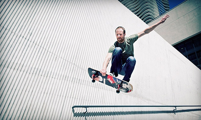 SkateStart - Multiple Locations: One Private Skateboarding Lesson for One or Two, or Five Private Lessons for One at SkateStart (Up to 60% Off)
