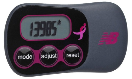 New Balance VIA Slim Komen Pedometer