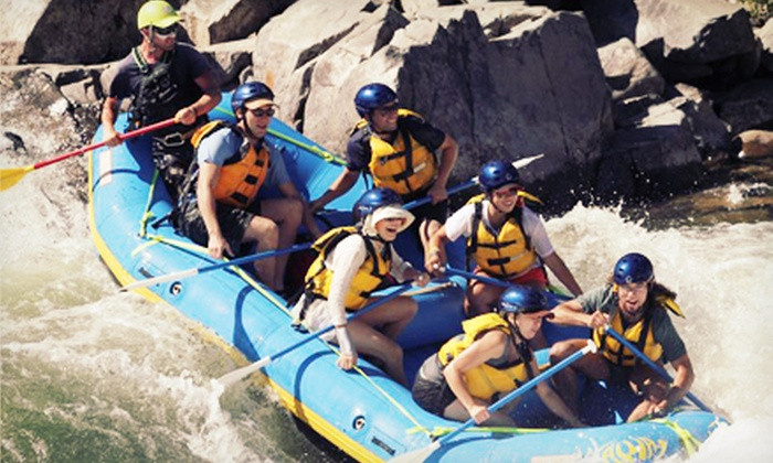 Action Whitewater Adventures - Lotus: Half- or Full-Day Rafting Trip Down the American River's South Fork from Action Whitewater Adventures (Half Off)