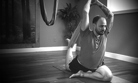 5 or 10 Group Classes, or One Men's Six-Week Yoga Series at Levitas Studio (Up to 45% Off)