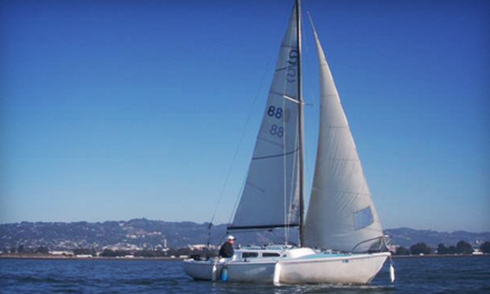 SailBerkeley - Berkeley Marina: $100 for Private, Two-Hour sailing Cruise for Two from SailBerkeley ($200 Value)