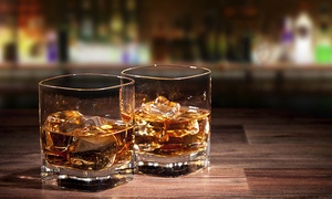 Ethnic Bar: Whisky- of rumproeverij  voor 1 tot 6 personen op de Louizalaan