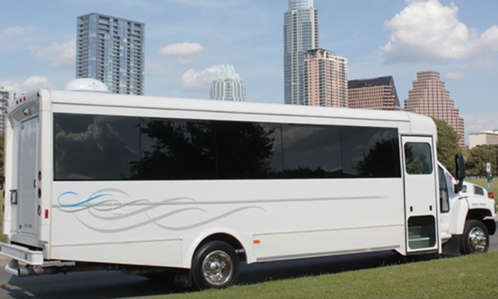 Highroller Limo Bus - Austin: $328 for a Three-Hour Party-Bus Rental for Up to 20 People from Highroller Limo Bus ($900 Value)