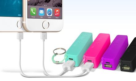 2- or 3-Pack of Aduro PowerUp 2,000mAh Portable Backup Batteries
