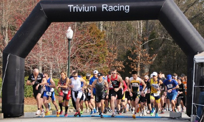 Rockin' Marathon Relay - Iroquois Park: Entry for One, Two, or Four to the Rockin' Relay Team Marathon from Trivium Racing on October 5 (Up to 51% Off)
