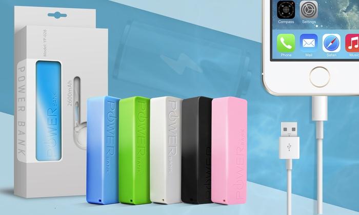 Batterie portable externe PowerBank pour smartphone et tablette coloris au choix dès 499€ (jusquà 88% de rduction)