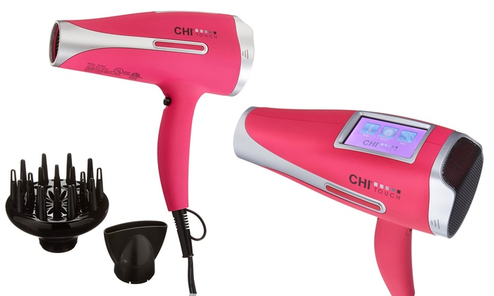 chi digital touch blow dryer
