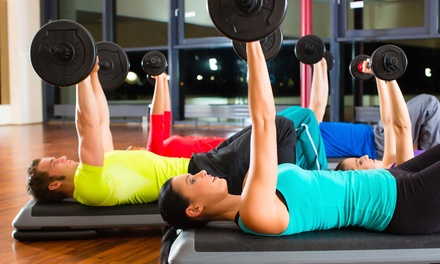 $23 for $75 Worth of Gym Visits — Max Fitness