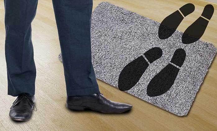 שטיח הפלא, הסופח לכלוך וטביעות רגליים ושומר על הבית נקי מסימני דריכה