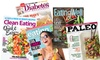 Up to 60% Off a Subscription to a Healthy-Eating Magazine