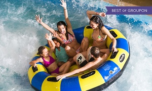 Water Park of America: Half-Day or All-Day Passes at Water Park of America (Up to 56% Off). Six Options Available.