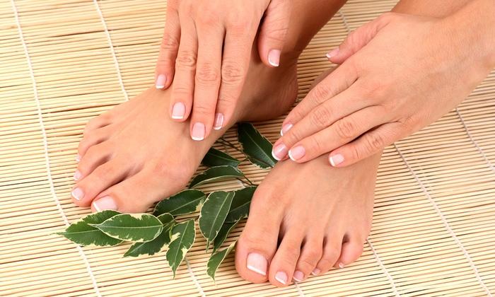 Allure Nail Salon - Allure Nail Salon : $35 for an Organic Mani-Pedi at Allure Nail Salon ($75 Value)