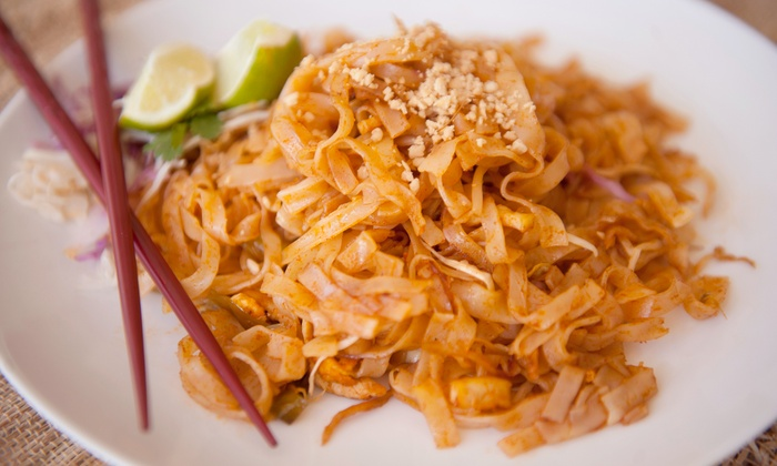 Thai Singha - Waterford Lakes Town Center: Thai Food at Thai Singha (Up to47% Off). Two Options Available.