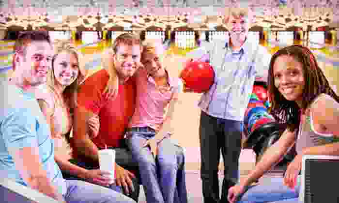 Strikes Unlimited - Rocklin: $27.50 for Two Hours of Bowling with Pizza and Soda for Up to Six at Strikes Unlimited (Up to $84.43 Total Value)