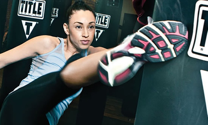 Title Boxing Club - Sycamore Mall: Two Weeks of Power Hour Classes with Hand Wraps for One or Up to Four at Title Boxing Club (Up to 78% Off)
