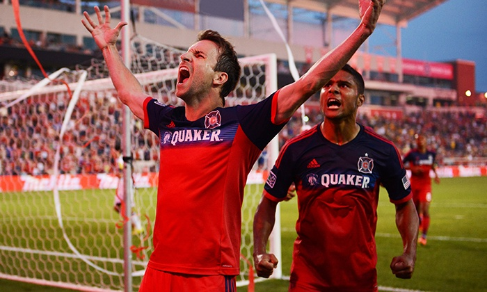 Chicago FIre - Toyota Park  : Ticket Package for One with Food to See the Chicago Fire at Toyota Park on August 26 (Up to 48% Off)