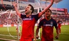 Chicago FIre - Toyota Park: Ticket Package for One with Food to See the Chicago Fire at Toyota Park on August 26 (Up to 48% Off)