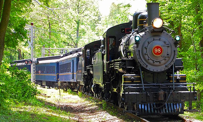 Wilmington & Western Railroad - Lower Christiana: Mt. Cuba Meteor Train Ride for One or Two Adult-Child Pairs at Wilmington & Western Railroad (Up to 56% Off)