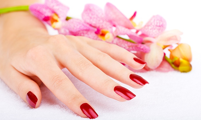 River Hair and Nails - Natomas: $16 for a Shellac or Gel Manicure at River Hair and Nails ($30 Value)