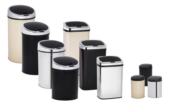 poubelle automatique davis and grant groupon. Black Bedroom Furniture Sets. Home Design Ideas