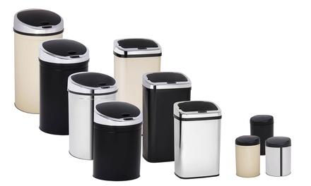 Cubo de basura con sensor Davis & Grant de 3, 30, 40, 50 o 60 litros, con diseño cuadrado o redondo