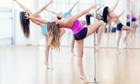 Introduction to Pole Dancing Class for One or Two or Four Sexy Fitness Classes at Aradia Fitness (Up to 50% Off)