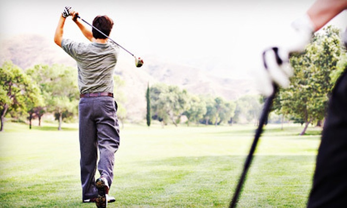 Mark S. Macy Golf Instruction - Sunol: Three Private Lessons for One or Semiprivate Lessons for Two from Mark S. Macy Golf Instruction in Sunol (Up to 52% Off)