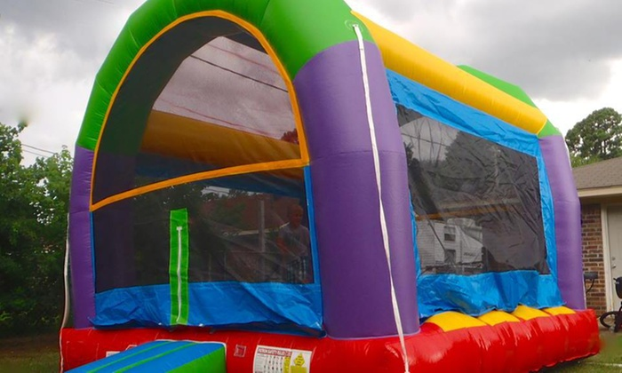 Boundless Inflatables - Shreveport / Bossier: Up to 52% Off Bouncy Castle rental at Boundless Inflatables