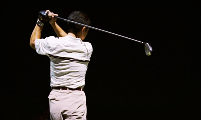 Hackerz Indoor Golf Lounge - Central Park Plaza: One or Two Hours of Golf-Simulator Play for Up to Four at Hackerz Indoor Golf Lounge (Up to 69% Off)