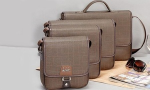 C E U S: Four-Piece Messenger-Bag Set or Bracelet and Gifts at C E U S (Up to 62% Off)