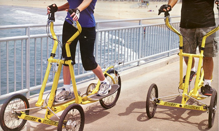 Okanagan Street Striders - Penticton: 60-Minute StreetStrider Rental for Two or Four from Okanagan Street Striders in Penticton (Up to 55% Off)
