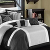Belissa Comforter Set with Embroidery and Decorative Pillows (7-Piece)