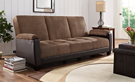 Dallas Two-Tone Convertible Futon