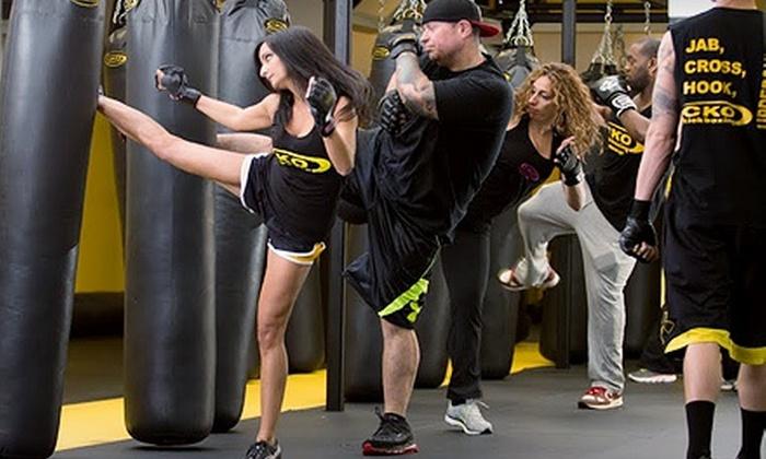 CKO Kickboxing - Peekskill: Three, Six, or Nine Kickboxing Classes at CKO Kickboxing (Up to 73% Off)