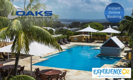 The Entrance: 3 or 7 Nights for Two or Four People with Wine and Late Check-Out at Oaks Waterfront Resort The Entrance