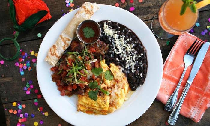 Barrio Star - Bankers Hill: Tacos and Margaritas for Two or Four or $20 for $40 Worth of Dinner at Barrio Star
