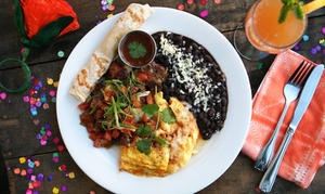 Barrio Star: $22 for $40 Worth of Mexican Cuisine for Dinner at Barrio Star