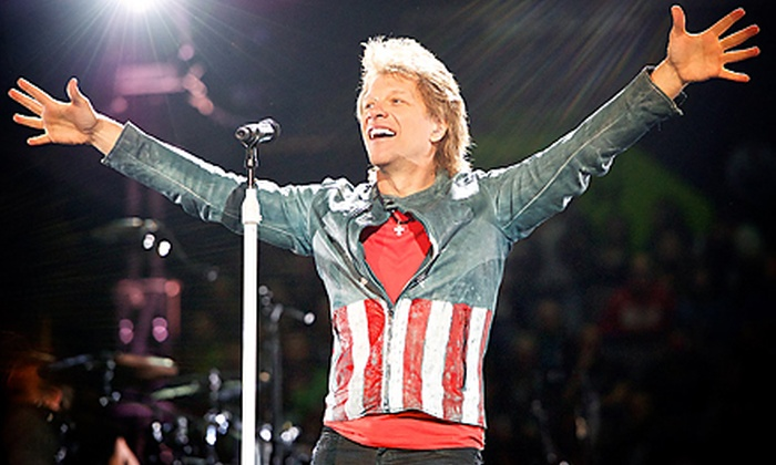 Bon Jovi Because We Can - The Tour - Hoover: Bon Jovi: Because We Can – The Tour at Save Mart Center on October 8, at 7:30 p.m. (Up to 51% Off)