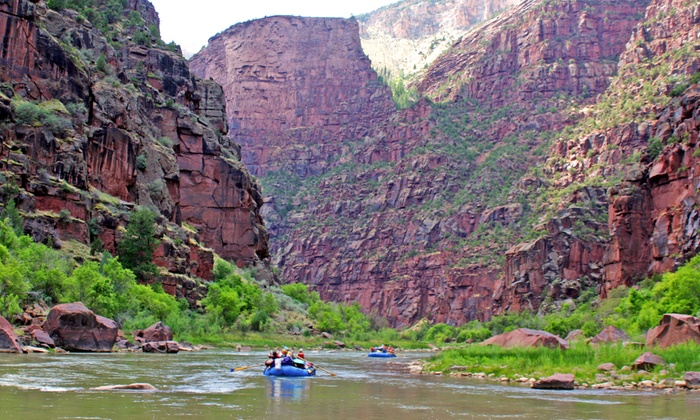 Adrift Adventures - Jensen: All-Inclusive Four-Day Whitewater-Rafting Trip on Green River from Adrift Adventures (48% Off)