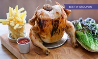 Clockjack, Soho: Main (£13.20) or Rotisserie Chicken (£14.95) With Sides or Beer For Two (Up to 49% Off)