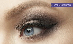 Fabulous Faces: Permanent Eyebrow Makeup, or Eyeliner for the Upper Lids, Lower Lids, or Both at Fabulous Faces (Up to 71% Off)