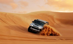 Dubai Desert Safari: Desert Safari With Barbecue Buffet For One or Two with Dubai Desert Safari (Up to 69% Off)