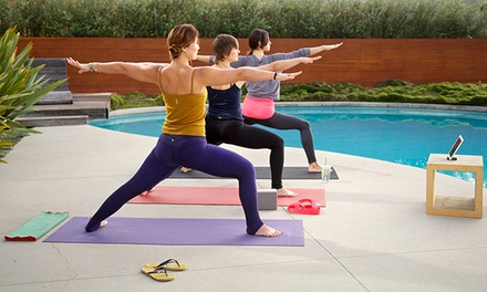 groupon daily deal - 6- or 12- Month Subscription to Online Yoga at MyYogaWorks.com (Up to 64% Off)