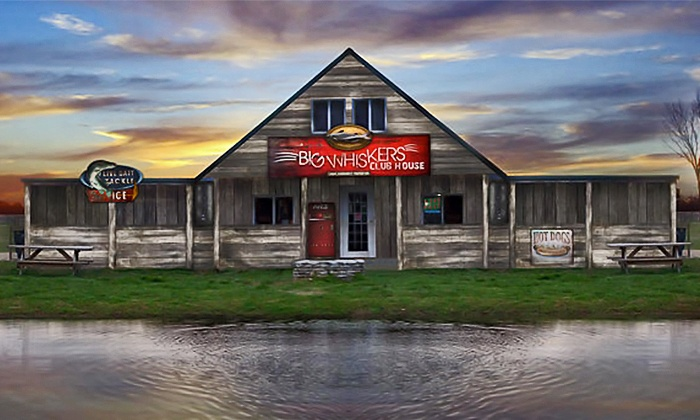 Big Whiskers Catfish Farm - Big Whiskers Catfish Farm: Gift Cards for Fishing, Gear Rental and Snacks at Big Whiskers Catfish Farm (40% Off). Two Options Available.