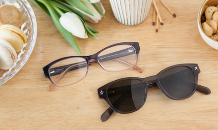 C$25 for C$60 Worth of Glasses and Sunglasses from Clearly.ca