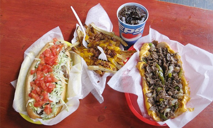 Southside Steaks - Southside Flats: Philly Cheesesteaks, Fresh Salads, and Fresh Wings or Takeout at Southside Steaks (Up to 50% Off)
