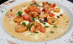 La Rosso: Italian-Cajun Cuisine and Drinks for Two or Four or More at La Rosso (Up to 40% Off)