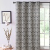 Bristol Printed Window Curtain Panel with Grommets