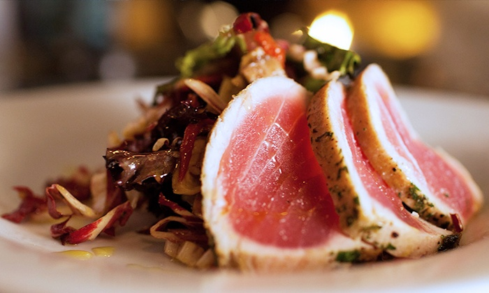 32 East - OSSHAD: Upscale American Dinner Cuisine at 32 East Restaurant (Up to 45% Off). Two Options Available.