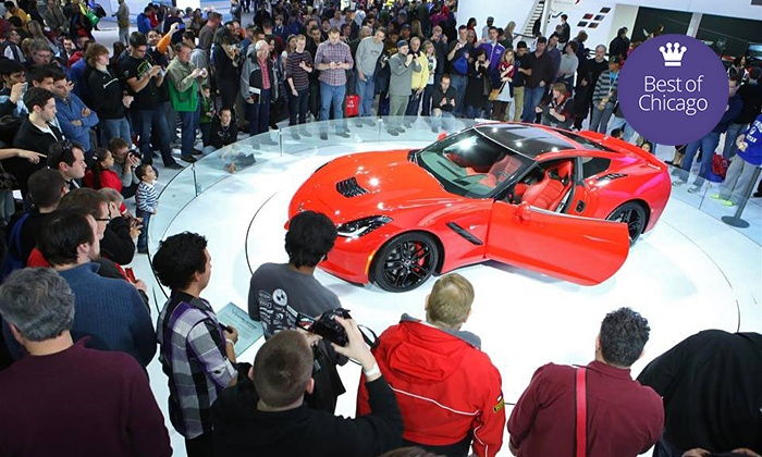 Chicago Auto Show - Downtown: Weekday or Weekend Visit to the Chicago Auto Show (Up to 50% Off)